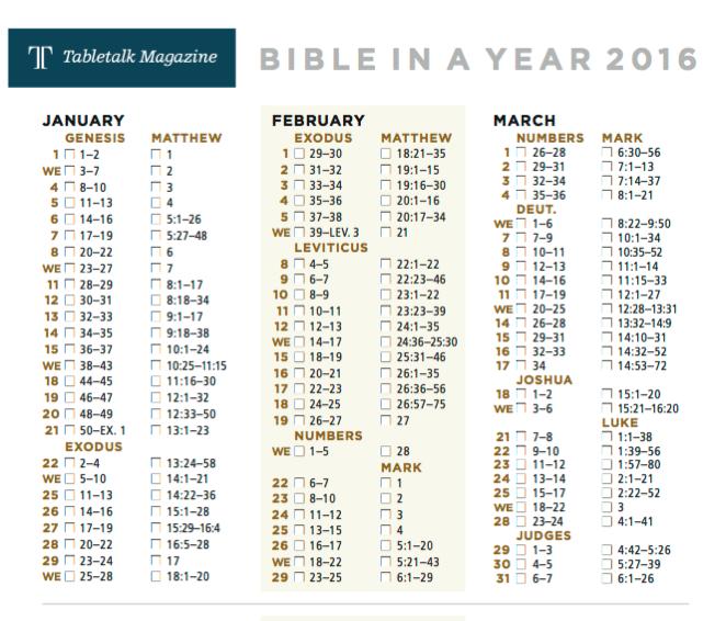 Bibellesepläne 2016 Theoblog De