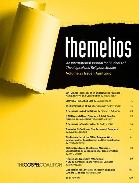 Themelios 44 1 Seite 1